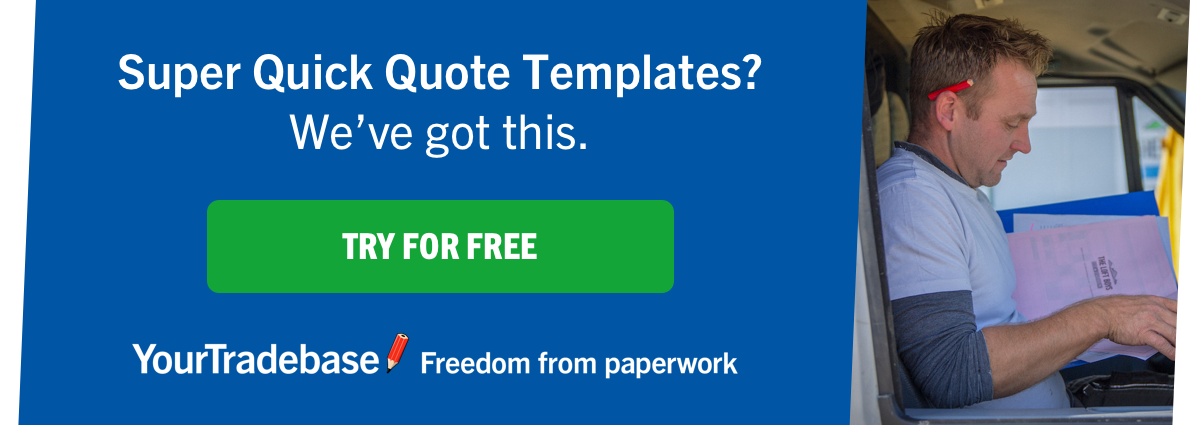 An Example Builders Quote Yourtradebase Blog