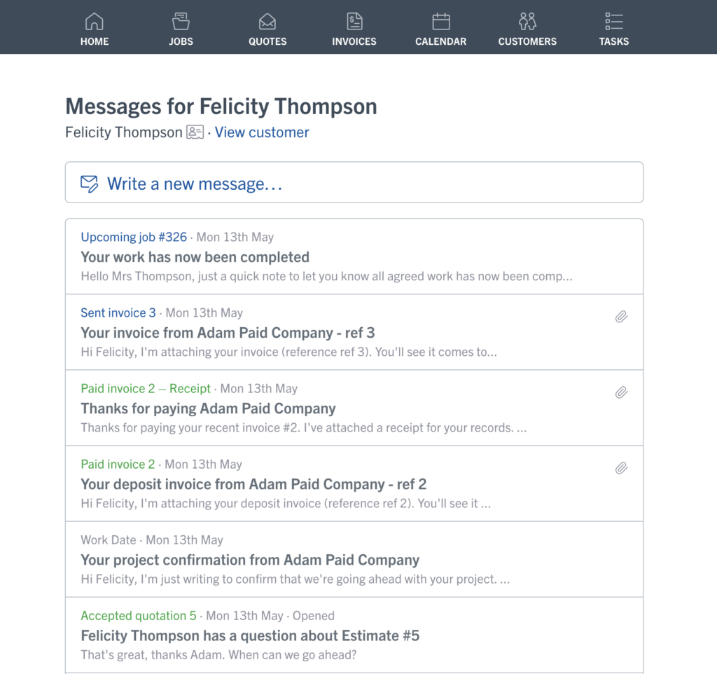 Product updates from YourTradeBase