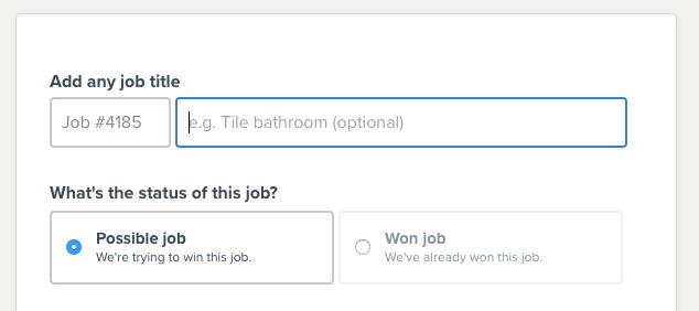 Possible jobs
