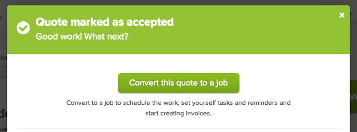 convert to job