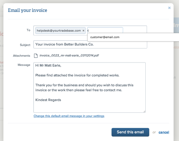 email-invoice-window