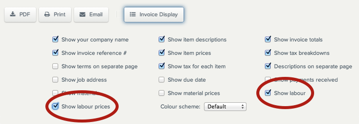 labour-display-invoice